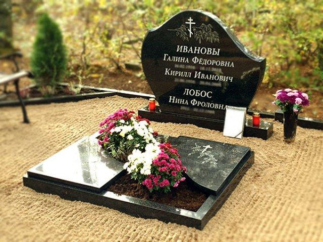Kapu piemineklis Rīgas Pļavnieku kapsētā