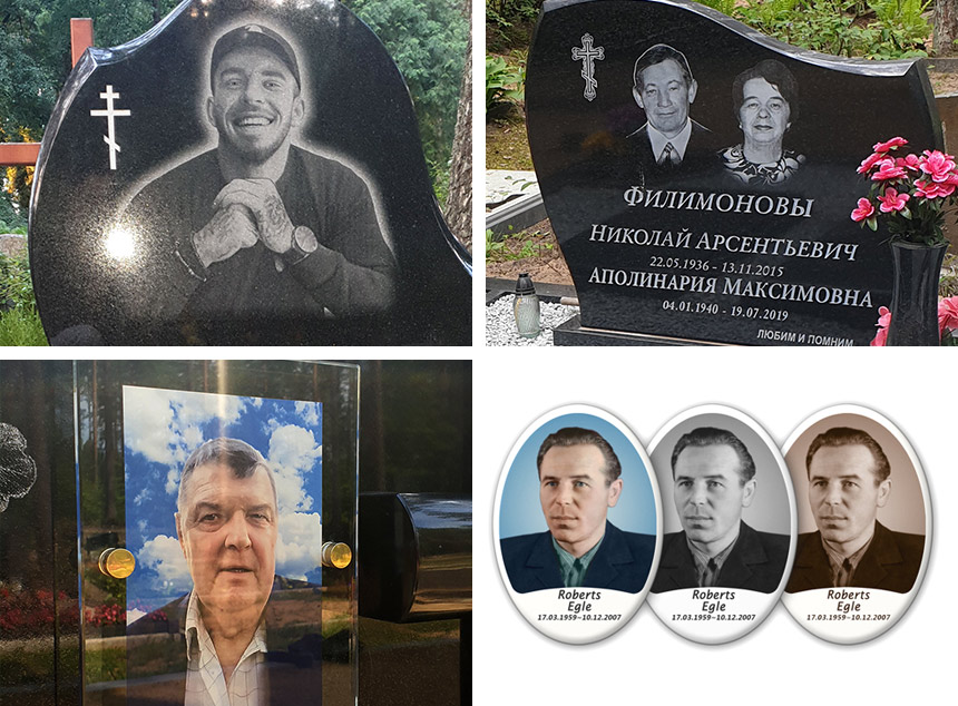 Portreti uz kapakmens