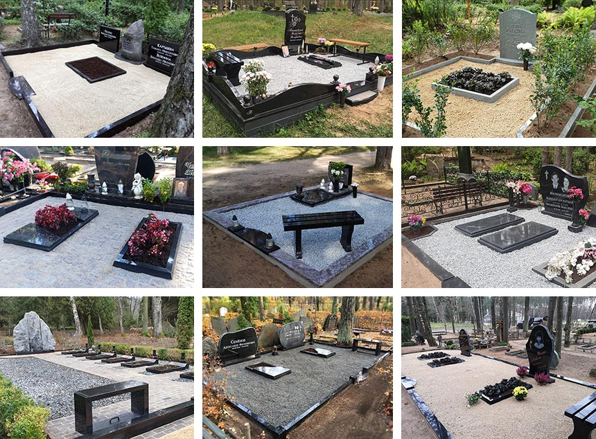Kapu labiekārtošana un uzkopšana kapos visā Latvija